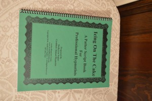 Icing on the Cake -a Script book for the Professional Hypnostist www.etsy.com EnergyofAvalon